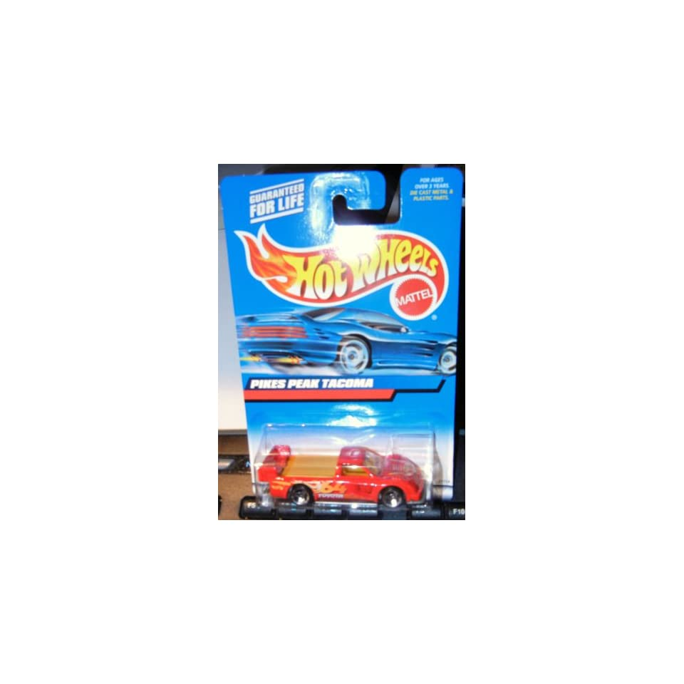 #2000 148 Pikes Peak Tacoma Red intake Collectible Collector Car Mattel Hot Wheels