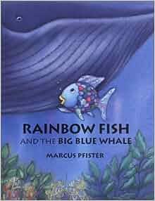 Rainbow fish and the big blue whale mini book marcus for Rainbow fish and the big blue whale