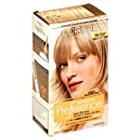 L'Oreal Superior Preference Fade-Defying Color and Shine System, Level 3 Permanent, Cooler, Light Ash Blonde 9A