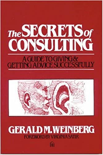 Secrets of Consulting Book Cover