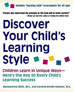 """Cover of """"Discover Your Child's Learning ..."""