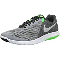 Nike Men's Flex Experience RN 5 Running Sneakers (Stealth/Metallic Silver/A)