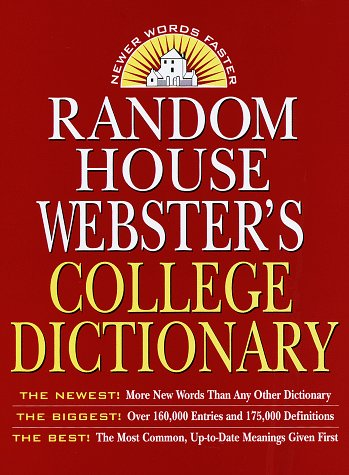 Random House Webster's College Dictionary, Second Edition, Robert B. Costello