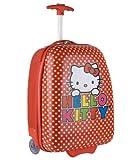 Hello Kitty Polka Dot ABS Rolling Luggage