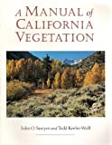 img - for A Manual of California Vegetation book / textbook / text book