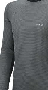 (モンベル)mont-bell ジオライン L.W.ラウンドネックシャツ Men\'s