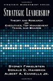 img - for Strategic Leadership: Theory and Research on Executives, Top Management Teams, and Boards (Strategic Management (Oxford University Press)) by Cannella, Bert, Finkelstein, Sydney, Hambrick, Donald C. (2008) Hardcover book / textbook / text book