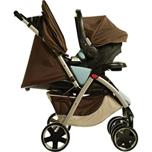 Maxi-Cosi Leila Travel System, Reef (Discontinued by Manufacturer) (Discontinued by Manufacturer)