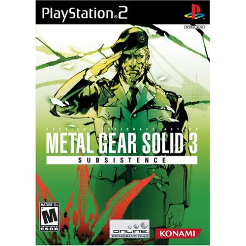 Metal Gear Solid 3 Subsistence (Metal Gear Acid 2 compare prices)
