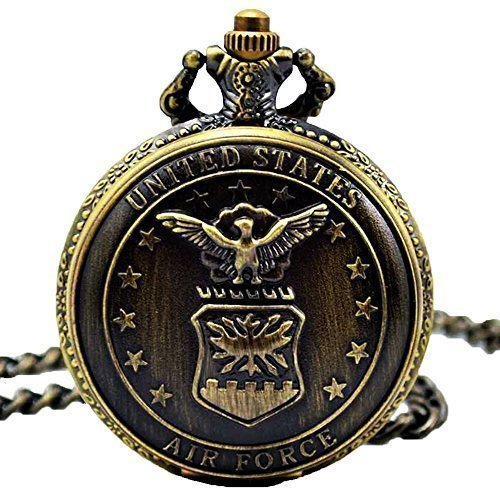 unisex-bronze-pocket-fobs-watch-us-air-force-stars-classic-hunter-case-quartz-with-chain-xmas-gift