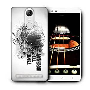 Snoogg Time To Dream Printed Protective Phone Back Case Cover For Lenovo K5 Note