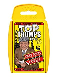 TOP TRUMPS ONLY FOOLS AND HORSES FAVOURITE TRAVEL FAMILY GAME