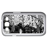 Death street - Watercolor style - Case Cover For Samsung Galaxy S3 i9300 (White)