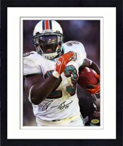 Framed Autographed Ronnie Brown Photo - Miami Dolphins 8x10 Memories - Mounted... by Sports Memorabilia