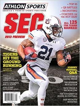 Athlon Sports 2013 College Football Southeastern (SEC) Preview