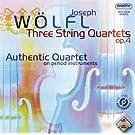 W�lfl: Quatuors � cordes