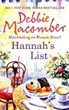 Hannah's List (MIRA)