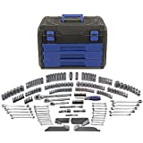 Kobalt 227-Piece Standard/Metric Mechanics Tool Set with Case 85183 (Color: Black, Tamaño: full size)