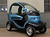 Q Air Pod - By Green Transporter 4 Wheel Mobilty Scooter Golf Cart (Single Seat)