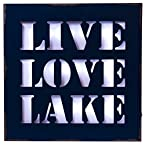Live Love Lake Light Box
