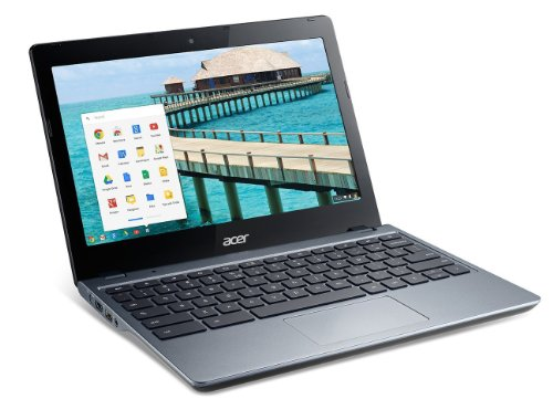 2014 Nieuwste Model Acer C720P Touch Screen Chromebook (11.6-Inch touchscreen, Haswell micro-architectuur) 4GB 32GB SSD USB 3.0 Bluetooth Intel HD Graphics met 128 MB dedicated systeemgeheugen Moonstone White