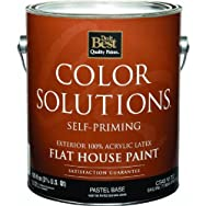 - CS45W0702-16 Color Solutions Latex Flat Self-Priming Exterior House Paint