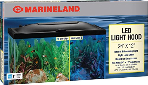 Marineland LED Light Hood, 24-Inch by 12-Inch (24 Inch Aquarium Hood compare prices)