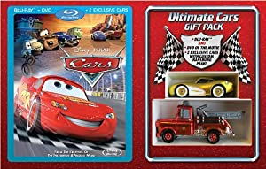 Cars Gift Set (Combo Pack with DVD) [Blu-ray]