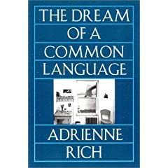 The Dream of a Common Language: Poems 1974-1977 (Paperback)