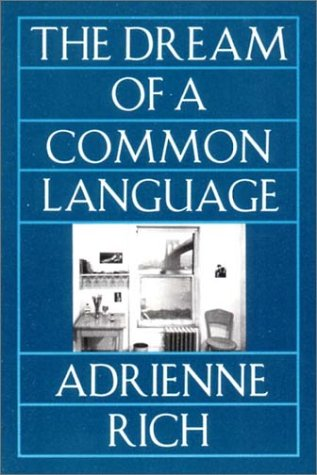 Image of The Dream of a Common Language: Poems 1974-1977