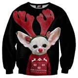 Mr Gugu & Miss Go Christmas sweater Polyester Black Color