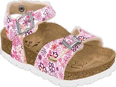 Birki's Girls' Tuvalu Birko Flor Sandals