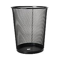 Rolodex Mesh Round Wastebasket, 11-1/…