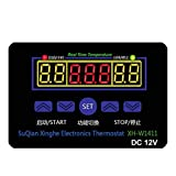WINGONEER DC 12V 10A Multifunction Digital LED Temperature Controller Thermostat Control Switch -19-99? With Sensor Probe