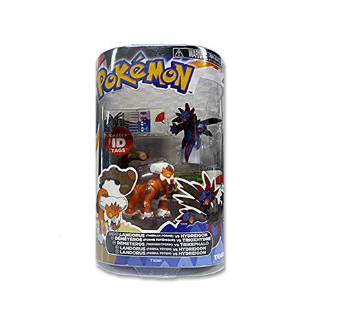 POKEMON Black and White 2 Figurine Pack - Landorus vs Hydreigon