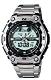 CASIO Wrist Watches:Casio Men's AQW100D-1AV Active Dial Sport Watch