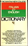 img - for The Bantam New College Italian & English Dictionary (Italian Edition) book / textbook / text book