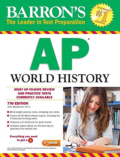 Barron's AP World History, 7th Edition (Ap World History Textbook compare prices)