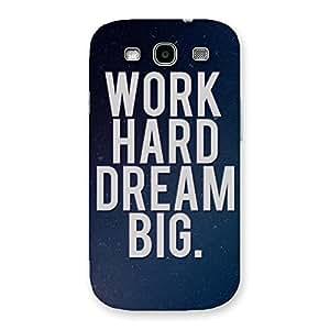 Ajay Enterprises Elite Hard Dream Back Case Cover for Galaxy S3