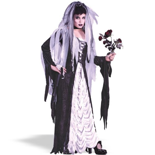 Fun World Women's Coffin Bride Adult Costume