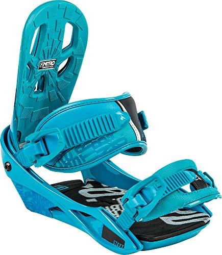 Nitro Snowboards Herren Snowboard-Bindung Staxx BDG 15