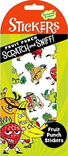 Peaceable Kingdom Scratch and Sniff Fruit Punch Scented Sticker Pack - 1