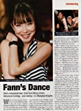 Fann Wong Clipping Magazine photo orig 1pg 8x10 M5411