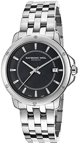 Raymond Weil 5591-ST-20001 39mm Steel Bracelet & Case Anti-Reflective Sapphire Men's Watch