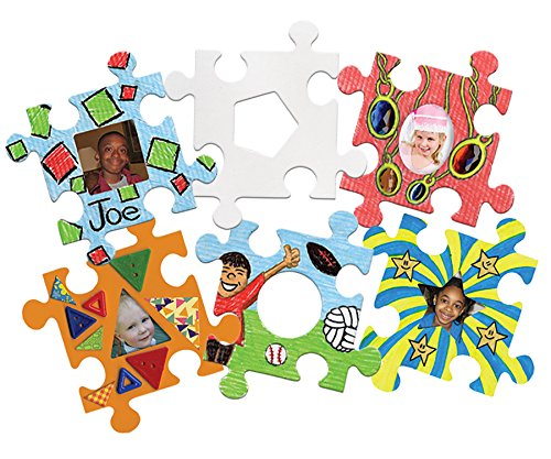 Roylco Picture Frame Puzzle Pieces