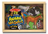 Melissa &amp; Doug 20 Animal Magnets in a Box