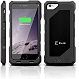 iPhone 6 Battery Case - MFi Certified - Doubles Battery Charge Without Extra Bulk - Heavy Duty Case Offers Protection From Impacts and Falls (Black)