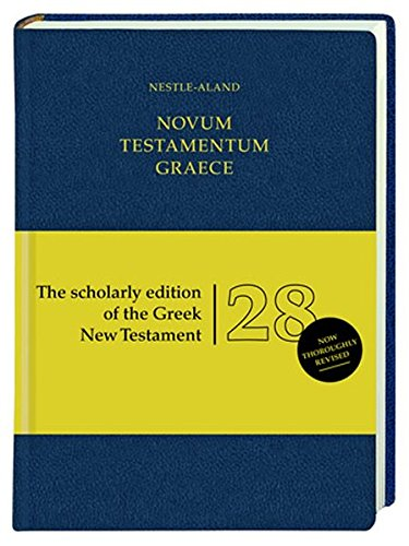 Novum Testamentum Graece-FL(German, Greek and English) (Greek, English and German Edition)