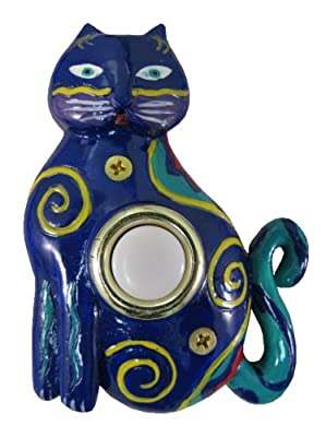 Company's Coming DBP-002 Cat Painted Doorbell Cover