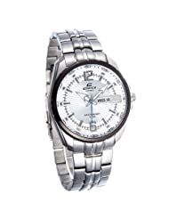 Casio Edifice Analog White Dial Men's Watch - EF-131D-7AVDF (ED446)